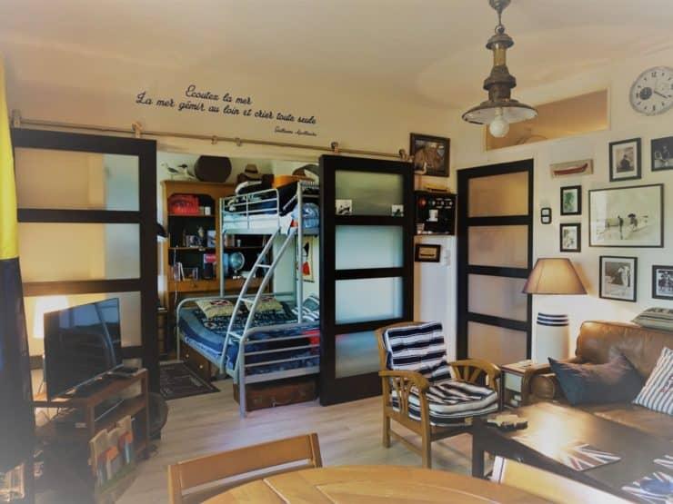 Arcachon – Abatilles T2 cabine intégralement rénové