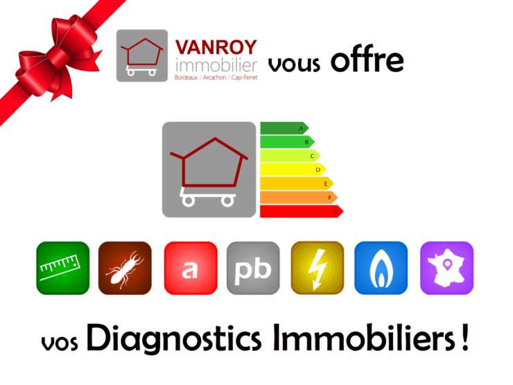 Diagnostics immobiliers offerts !