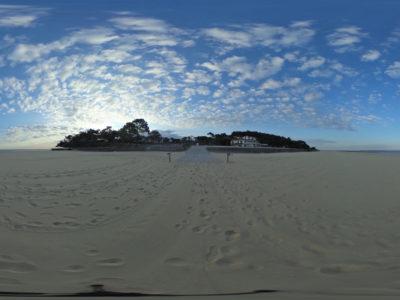Visite virtuelle des plages d'Arcachon